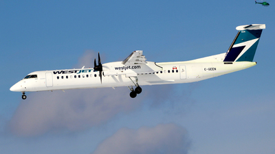 A picture of CGEEN - De Havilland Canada Dash 8400 - WestJet - © Guy Langlois