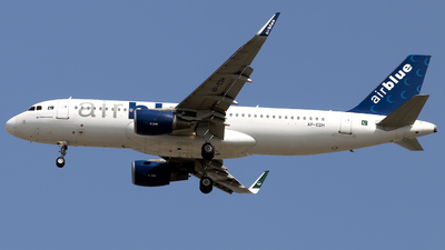 A picture of APEDH - Airbus A320214 - AirBlue - © Salman Tareen.