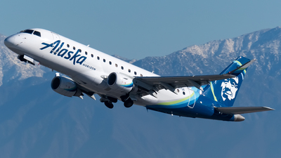 A picture of N637QX - Embraer E175LR - Alaska Airlines - © Ricky Teteris