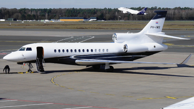 PH-IWS - Dassault Falcon 7X - Exxaero International