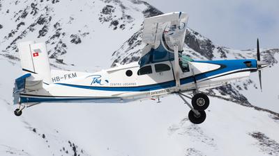 A picture of HBFKM - Pilatus PC6/B2H4 Turbo Porter - [873] - © Alexandre Fazan