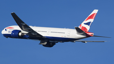A picture of GVIIT - Boeing 777236(ER) - British Airways - © John Fitzpatrick