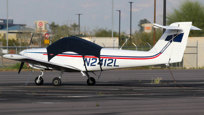 A picture of N2412L - Piper PA38 Tomahawk - [3879A0697] - © C. v. Grinsven