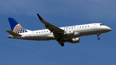 N741YX - Embraer 170-200LR - United Express (Republic Airlines)