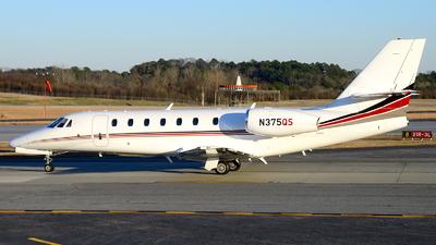 N375QS - Cessna 680 Citation Sovereign - NetJets Aviation