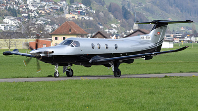 HB-FRY - Pilatus PC-12/47E - Private