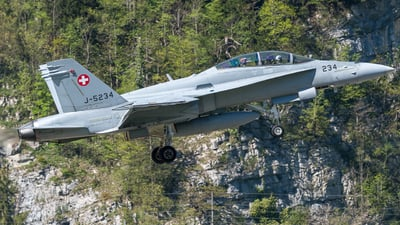 J-5234 - McDonnell Douglas F/A-18D Hornet - Switzerland - Air Force
