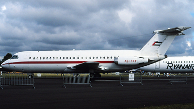 A6-RKT - British Aircraft Corporation BAC 1-11 422EQ - Private