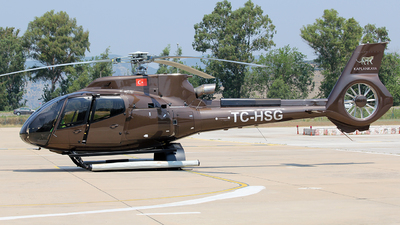 TC-HSG - Airbus Helicopters H130 T2 - Swan Aviation & Guide Services LCC