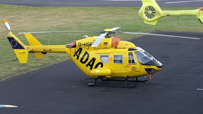 D-HSFB - MBB BK117 - ADAC Luftrettung