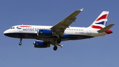 A picture of GEUPD - Airbus A319131 - British Airways - © Janam Parikh