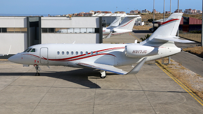 N917JC - Dassault Falcon 2000LX - Private