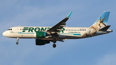 N233FR - Airbus A320-214 - Frontier Airlines