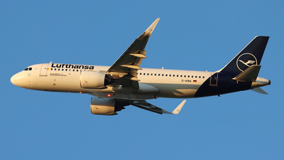 A picture of DAINQ - Airbus A320271N - Lufthansa - © Ferenc Kolos