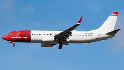 EI-FVT - Boeing 737-8JP - Norwegian