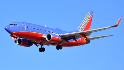N7713A - Boeing 737-7BD - Southwest Airlines