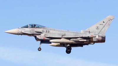C.16-33 - Eurofighter Typhoon EF2000 - Spain - Air Force