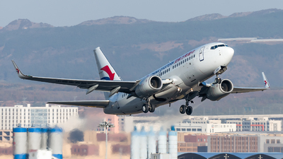 A picture of B5256 - Boeing 73779P - China Eastern Airlines - © Lazy Clutch