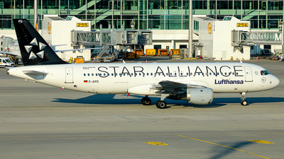 D-AIPD - Airbus A320-211 - Lufthansa