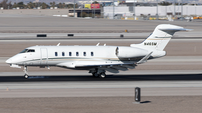 N46SM - Bombardier BD-100-1A10 Challenger 350 - Private