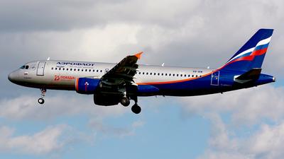 VP-BIW - Airbus A320-214 - Aeroflot