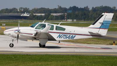 N75AM - Beechcraft 95-E55 Baron - Private