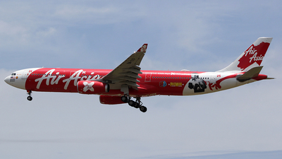 A picture of 9MXXP - Airbus A330343 - AirAsia X - © mobfeng