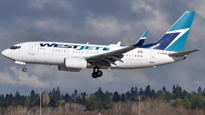 C-GWJE - Boeing 737-7CT - WestJet Airlines
