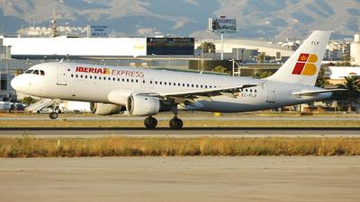 EC-FLP - Airbus A320-211 - Iberia Express
