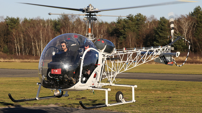 OO-MBE - Bell 47G - Busse Helicopters