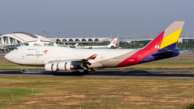 HL7620 - Boeing 747-419(BDSF) - Asiana Cargo