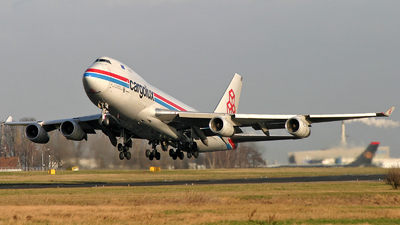 LX-MCV - Boeing 747-4R7F(SCD) - Cargolux Airlines International