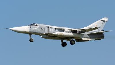 RF-33844 - Sukhoi Su-24M Fencer D - Russia - Navy