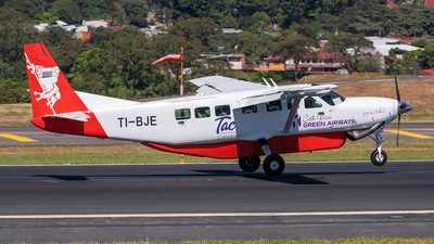 TI-BJE - Cessna 208B Grand Caravan - CostaRica Green Airways