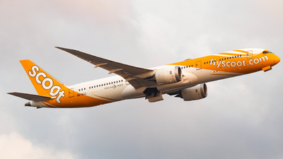 9V-OJJ - Boeing 787-9 Dreamliner - Scoot