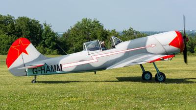 G-HAMM - Yakovlev Yak-50 - Private