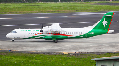 A picture of B17010 - ATR 72600 - UNI Air - © Ching Ho