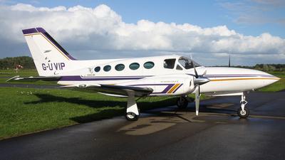 A picture of GUVIP - Cessna 421C - [421C0603] - © BaszB