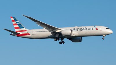 N823AN - Boeing 787-9 Dreamliner - American Airlines