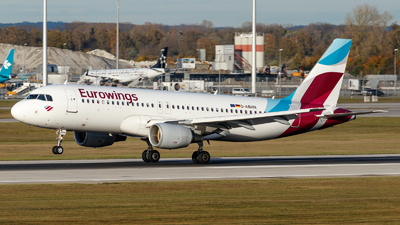 A picture of DABHN - Airbus A320214 - Eurowings - © TJDarmstadt