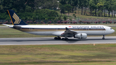 A picture of 9VSSE - Airbus A330343 - Singapore Airlines - © Kyan Ooi Ting Yi
