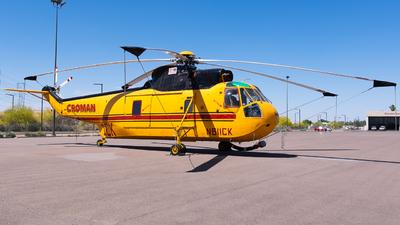 N611CK - Sikorsky SH-3H Sea King - Croman Helicopters