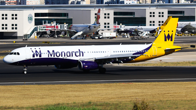 G-OZBN - Airbus A321-231 - Monarch Airlines
