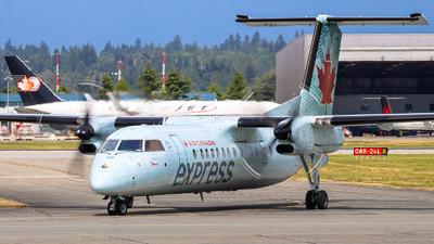 A picture of CFADF - De Havilland Canada Dash 8300 - Air Canada - © Luft Spotter