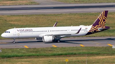VT-TVA - Airbus A321-251NX - Vistara