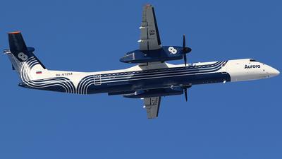 A picture of RA67254 - De Havilland Canada Dash 8400 - Aurora - © BizavMen