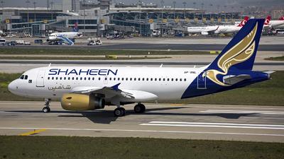 AP-BNL - Airbus A319-132 - Shaheen Air International