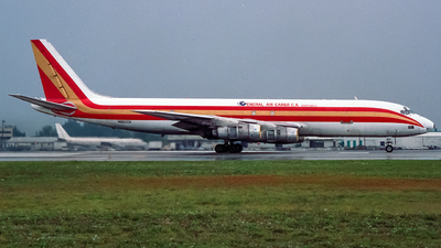 N802CK - Douglas DC-8-54(F) - General Air Cargo