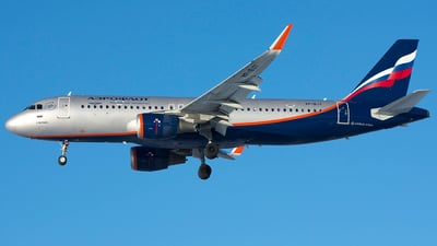 A picture of VPBJY - Airbus A320214 - Aeroflot - © SN7756