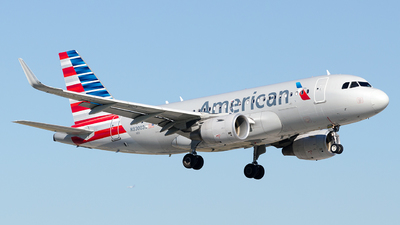 N93003 - Airbus A319-115 - American Airlines